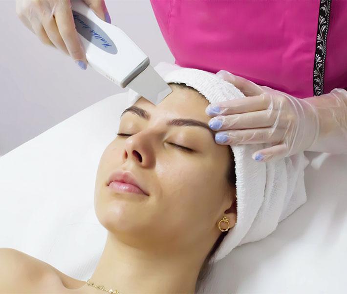 curatarea faciala cu ultrasunete